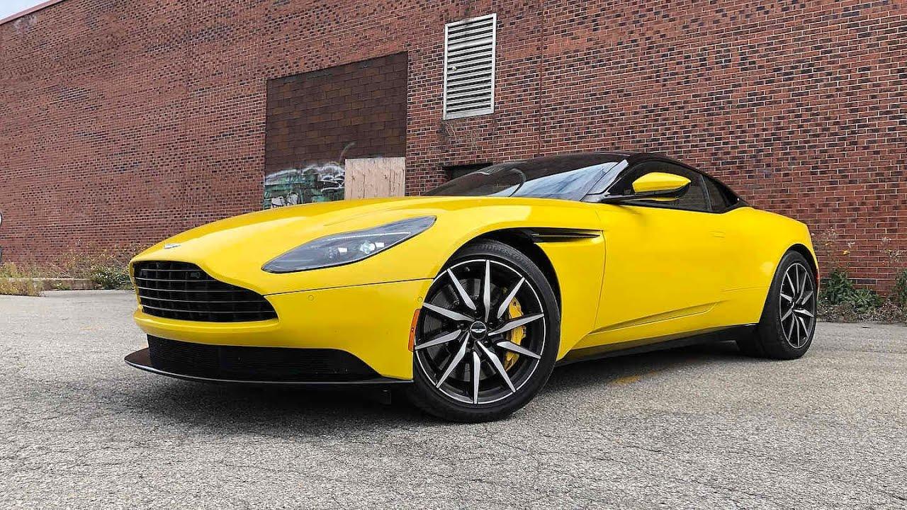 2020 Aston Martin Db11 Review Youtube