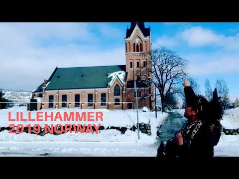 TRAVEL To LILLEHAMMER, NORWAY En La Iglesia, El  Lago Mjøsa, El Puente Vingnesbrua Y El Mercadillo