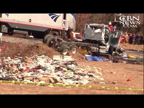 Train Carrying Republican Members of Congress Hits Trash Truck; 1 Fatality