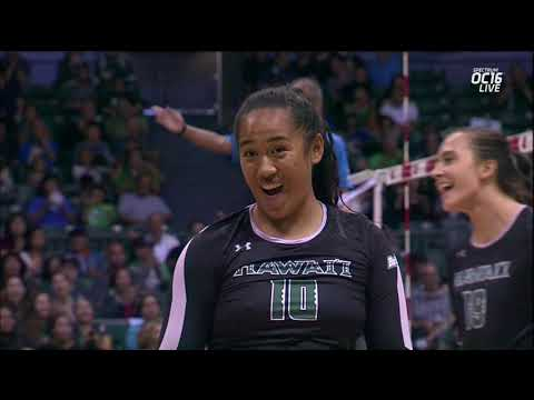 Rainbow Wahine Volleyball 2017 - Hawaii Vs South Dakota