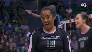 Rainbow Wahine Volleyball 2017 - Hawaii Vs South Dakota