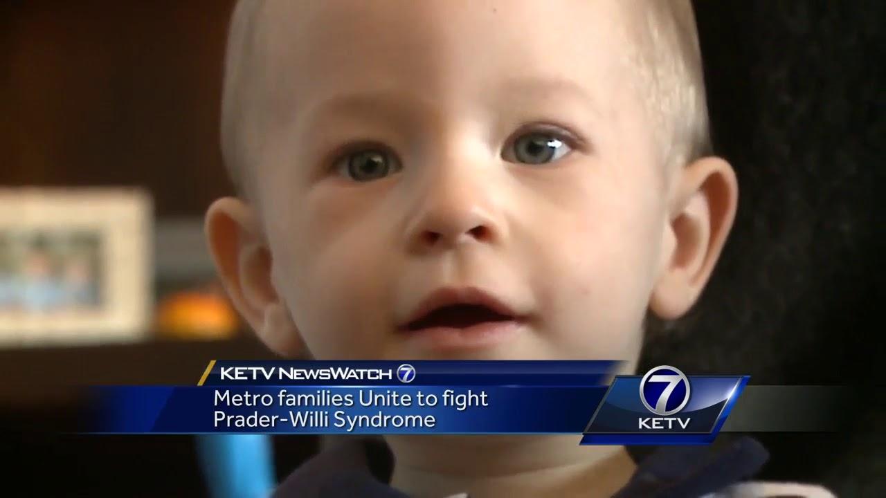 metro families unite to fight prader willi syndrome youtube
