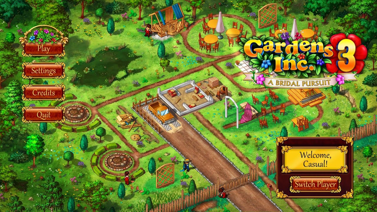 Gardens Inc. 3: A Bridal Pursuit Gameplay | HD 1080p   YouTube