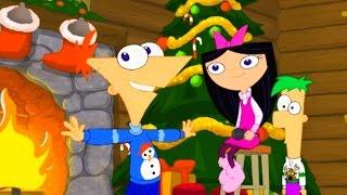 Финес и Ферб - Рождество Финеса и Ферба (3 Сезон 14/1 серия) | Популярные мультфильмы Disney