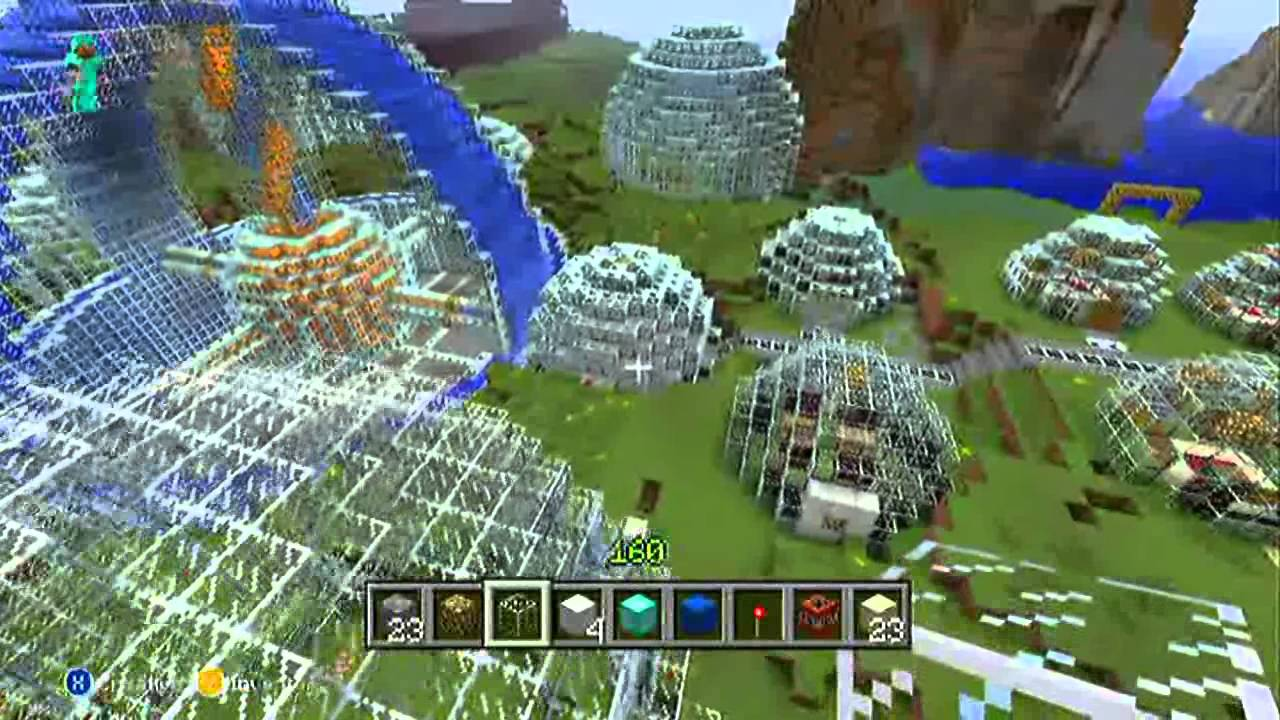 Minecraft - How To - Domes, Circles, Spheres - Basics