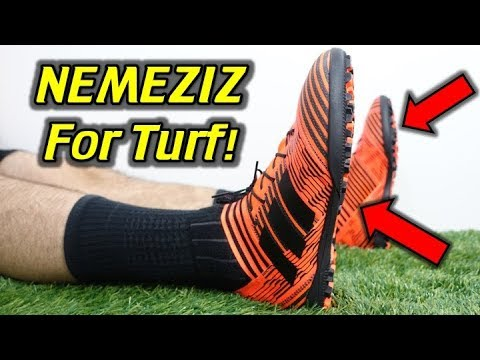 the best attitude 75876 bcce4 Adidas Nemeziz Tango 17.3 Turf (Pyro Storm) - Review + On Feet