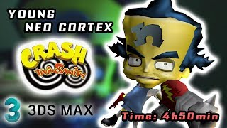 Young Neo Cortex - Model Rebuilt / Speed Modeling (Crash Bandicoot)