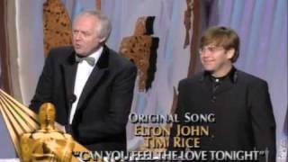 Elton John and Tim Rice Win Original Song: 1995 Oscars