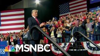Florida President Donald Trump Fans Berate Reporters At Rally | Morning Joe | MSNBC