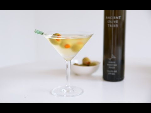 Lazy Bitch  Dirty Gin Martini with Ancient Olive Trees  Whitney A.