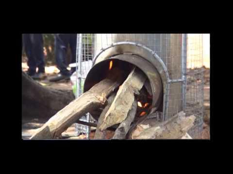 Cocinas ecol gicas ahorradoras de le a youtube - Cocina a lena ...