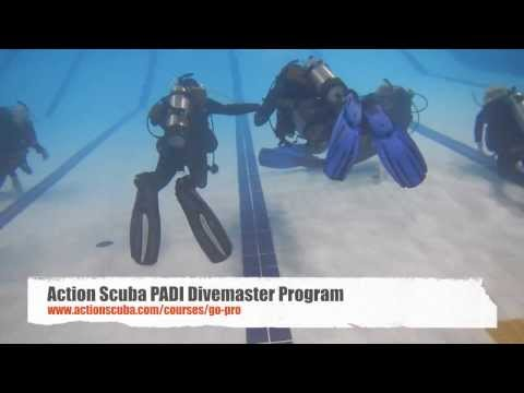 Action Scuba PADI Divemaster Gear Exchange Demo  (stress Test)