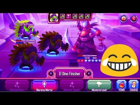 Monster Legends - El Dino Volador level 1-130 review combat : 72 Hours Challenge