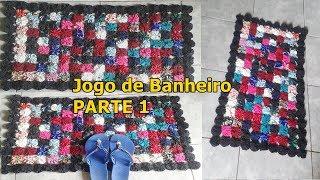 JOGO DE BANHEIRO DE FUXICO PARTE 1