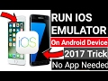 IOS Emulator On Android Without Installing. Fully IOS working. No App Needed. Watch Now!!