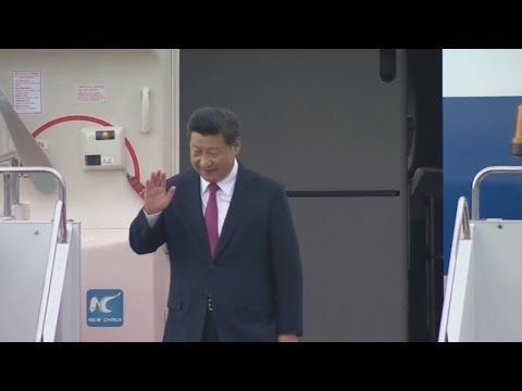 RAW: Chinese President Xi Jinping arrives in Ufa for BRICS/SCO summits