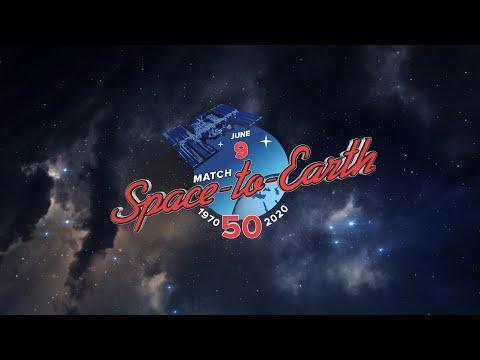 Шахматный матч между космосом и Землей / Anniversary Chess Match Space – Earth