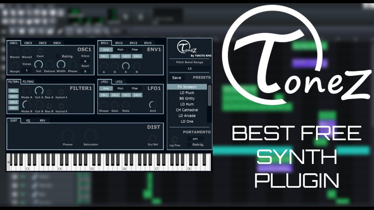 ToneZ | Best Free Synth Plugin 2019