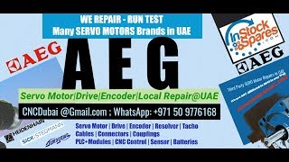 AEG Modicon Arab GCC Heidenhain Sick Stegmann Encoder Memory Align Resolver Adjust -Repair UAE Oman