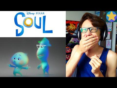 REACT Soul (Teaser Trailer) Nova animação da Disney 2020! | Freddy Universe