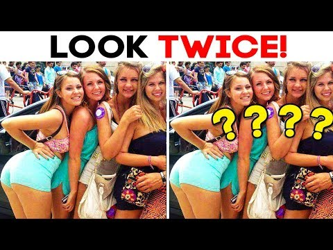 55 ACCIDENTAL OPTICAL ILLUSIONS YOU SHOULD DEFINITELY LOOK AT TWICE