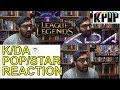 K/DA - POP/STAR ((G)I-DLE, MADISON BEER, JAIRA BURNS) - LEAGUE OF LEGENDS  REACTION