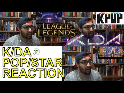 KDA  POPSTAR GIDLE, MADISON BEER, JAIRA BURNS  LEAGUE OF LEGENDS  REACTION