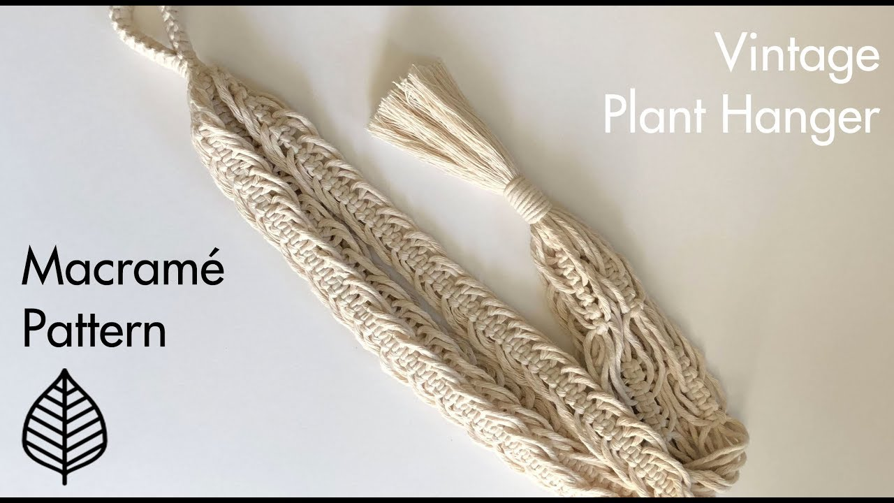 image about Free Printable Macrame Plant Hanger Patterns identify Common Macrame Plant Hanger - No cost State-of-the-art Routine