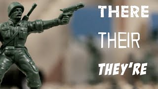 Grammar: There, Their, Or They're?