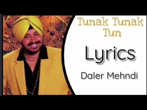 Tunak Tunak Tun (Lyrics)   Daler Mehndi   Punjabi Song   Lyrics Spot - YouTube