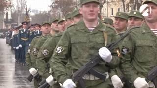В Астрахани отметили годовщину росгвардии
