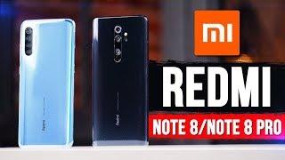 Xiaomi Redmi Note 8 | Note 8 Pro - встречаем Смартфоны для НАРОДА!
