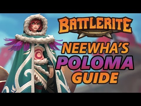 Poloma Battlerite Guide and Loadout Overview