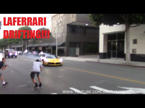 LaFerrari DRIFTING on the Streets of Beverly Hills!!! (Original)