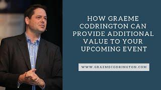 Graeme Codrington adds value to your event