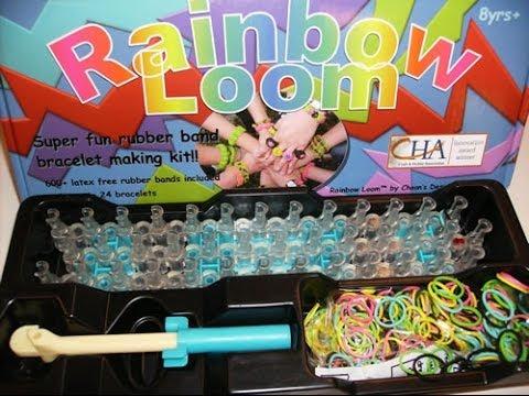 Unboxing Rainbow Loom Kit Youtube