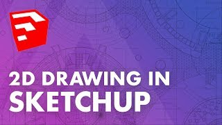 Drawing in 2D with Sketchup