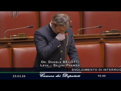 Belotti (Lega) commosso in Aula: «A Bergamo non sappiamo dove mettere i morti. Non ci fermeremo»