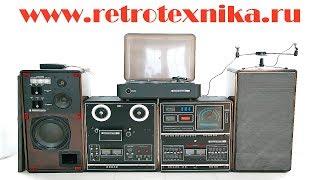 сделано в ссср обзор музыкальный центр романтика 001 стерео 1979 год