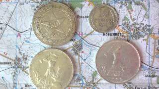 Легкая чистка серебряных монет HD(, 2014-08-03T09:31:25.000Z)