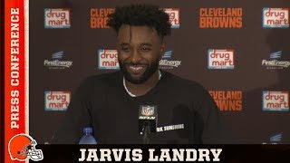 Jarvis Landry Postgame Press Conference vs. Jets | Cleveland Browns