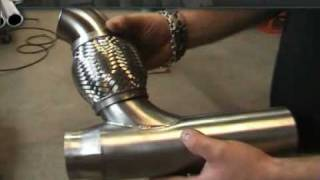 Ferrita Carrera GT exhaust system