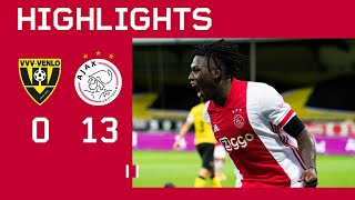Highlights | VVV-Venlo - Ajax 0-13 | Eredivisie