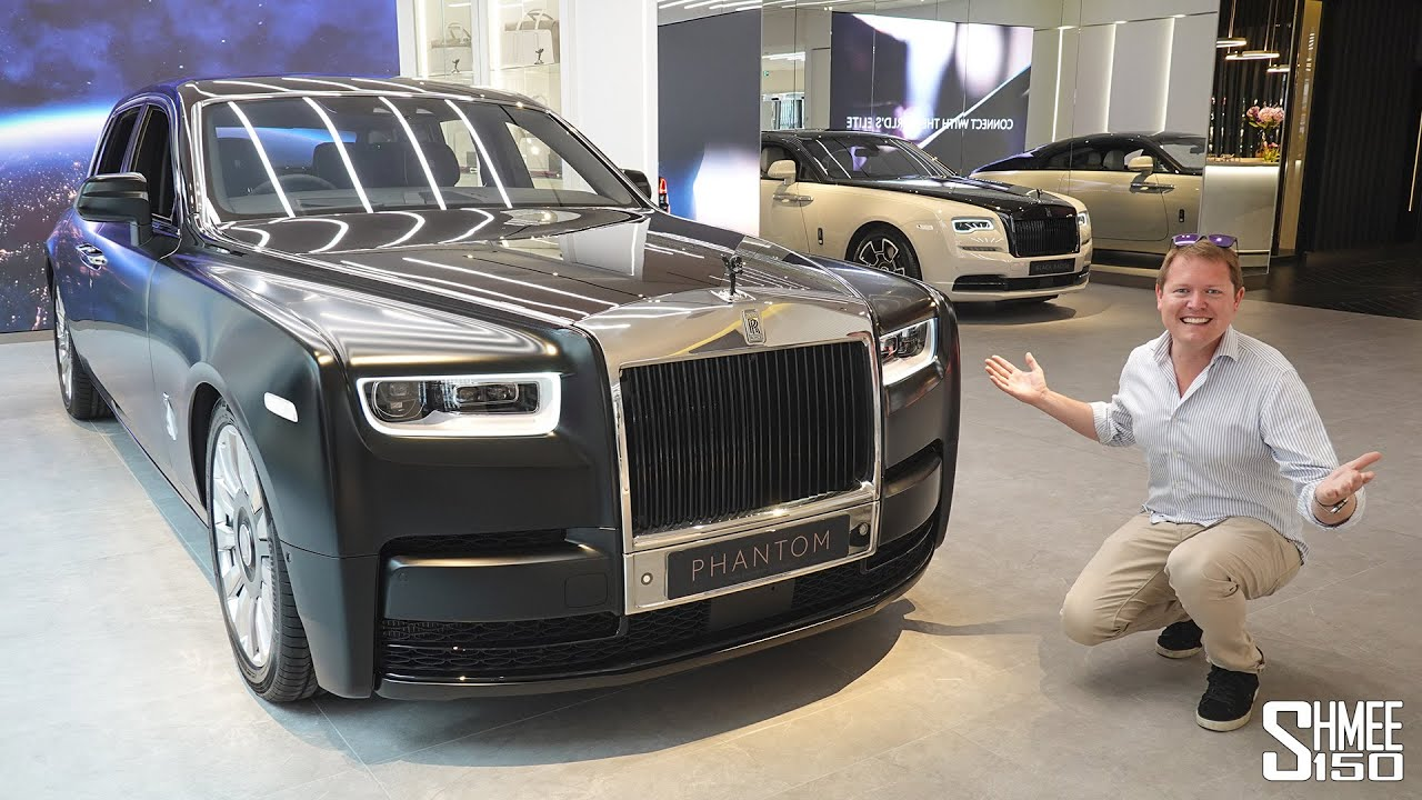 Visit Rolls-Royce London, The Most Exclusive Car Dealership IN THE WORLD!