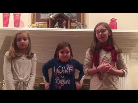 Christmas Hallelujah with the Petrey Girls