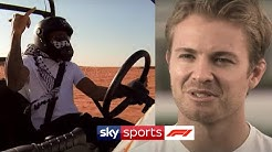 Dune Buggy racing with Lewis Hamilton & discussing his F1 title | At Home With Sky F1 | Nico Rosberg