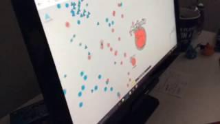 Diep.io mystery-triplet and penta shot gameplay!