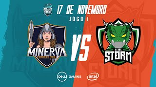 Desafio UniLoL 2019: Grande Final | Minerva UFRJ x UFABC Storm (Jogo 1)