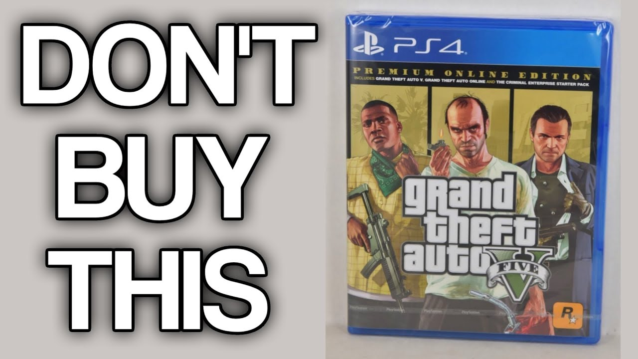 The Grand Theft Auto V Premium Ripoff Edition