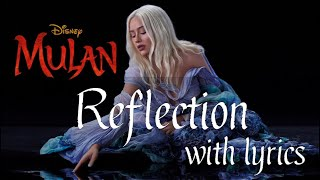 Mulan 2020 OST - Reflection with Lyrics HD by Christina Aguilera